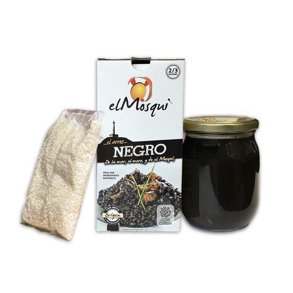 ARROZ NEGRO ARROZ + CALDO