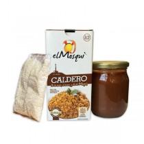 EL CALDERO: ARROZ+ CALDO