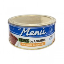 ANCHOAS TROZOS EN AC. VEGETAL