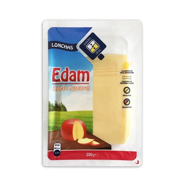 EDAM LONCHAS 200G