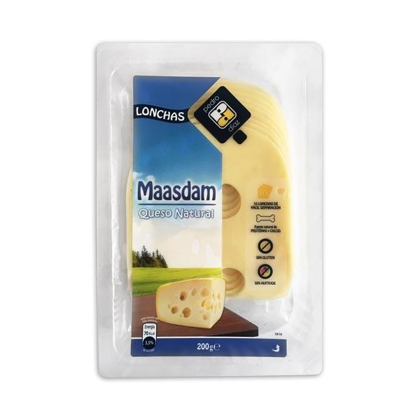 MAASDAM LONCHAS 200G