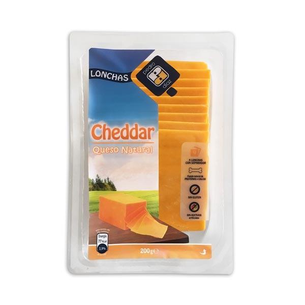 CHEDDAR LONCHAS 200G