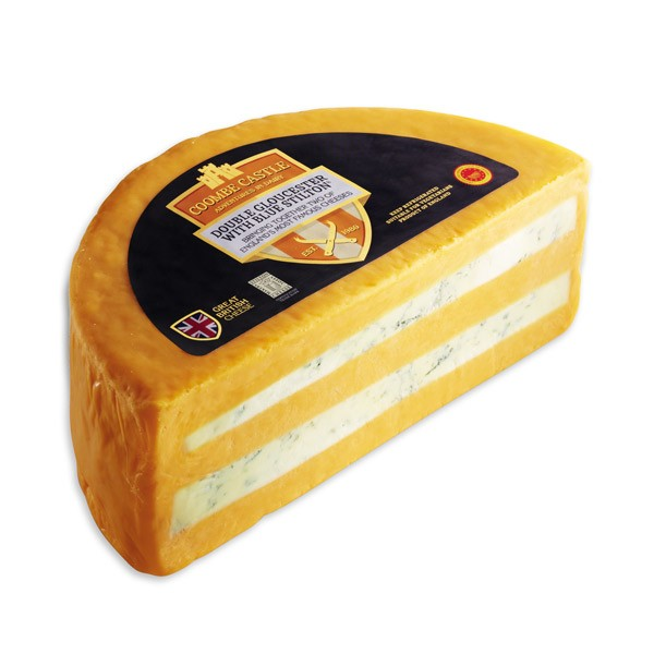 DOUBLE GLOUCESTER CON BLUE STILTON