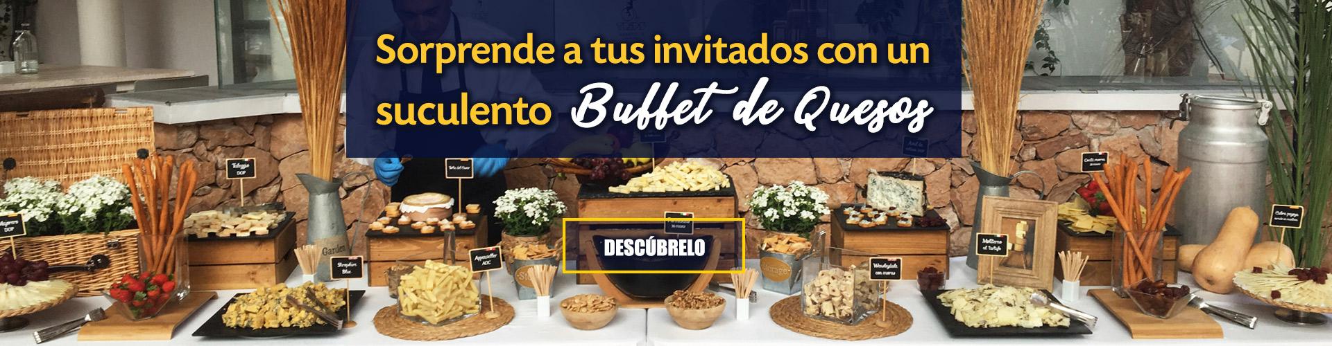 Buffet de quesos pedro diaz